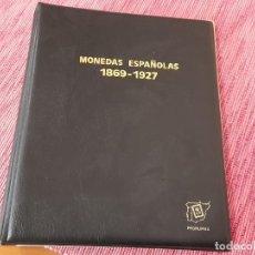 Materiale numismatico: ALBUM DE MONEDAS ESPAÑOLAS, VACIO. Lote 266292163