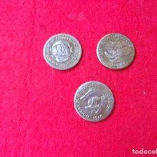 Material numismático: LOTE RATOLANDIA,PATOLANDIA Y DONALDUS MONEDAS WALT DISNEY. Lote 269033209
