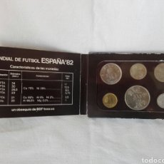 Material numismático: COLECCIÓN MONEDAS MUNDIAL FUTBOL ESPAÑA 1982 OBSEQUIO BDF TESA. Lote 269208018
