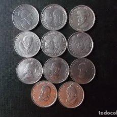 Material numismático: TOKENS DESCUBRIDORES NAVEGANTES Y FUNDADORES EN AMERICA AÑOS 60. Lote 269336458