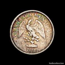 Material numismático: MEXICO 10 CENTAVOS 1899 GOR GUANAJUATO PLATA - REPUBLICA MEXICANA. Lote 269378758