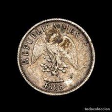 Material numismático: MEXICO 10 CENTAVOS 1898 GOR GUANAJUATO PLATA - REPUBLICA MEXICANA. Lote 269379128