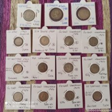 Material numismático: *PLATA*LOTE DE 15 MONEDAS, 3 PESETAS, ORE, PENCE, 9 VENEZUELA, 1 SIN CAT.. Lote 269469213