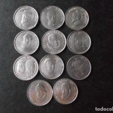 Material numismático: CONJUNTO DE 11 PIEZAS CONQUISTADORES DESCUBRIDORES COLONIZADORES DE ESPAÑA AÑOS 60 VER FOTOS. Lote 232920205