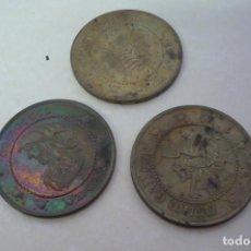 Material numismático: TRES MONEDAS GRINGORRS. Lote 271557568