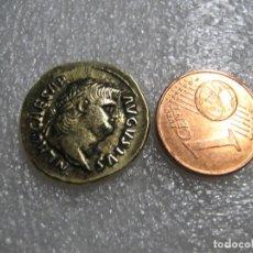 Material numismático: NERO, 54-68. Ô-AUREUS, BRONCE DORADO 3,89 GR 65/66, ROM;. Lote 274567408