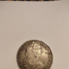Material numismático: MONEDA PLATA CARLOS III 8 REALES 1786. Lote 274578118