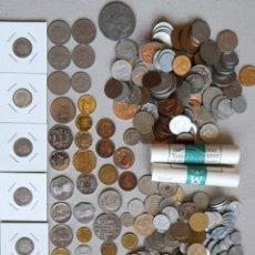 Material numismático: LOTAZO 600 MONEDAS. Lote 276397353