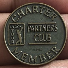 Material numismático: PGA TOUR GOLF MEMBER CHAPTER TOKEN FICHA. Lote 276409013