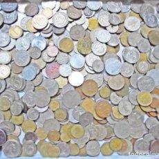 Material numismático: LOTE DE CIENTOS DE MONEDAS EXTRANJERAS, ALGUNAS REPETIDAS, NO HAY ESPAÑOLAS. Lote 277236028