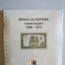 Material numismático: HOJAS DE ÁLBUM BILLETES 1936-1975. Lote 277565993