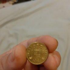 Material numismático: 1 PESETA, JUAN CARLOS PRIMERO DEL 1975. Lote 278214833