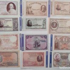 Material numismático: BILLETES DE 50 PTAS. BANCO DE ESPAÑA FACSIMIL/COPIA - COLECCION EDICIONES GRUPOJOLY 2001. Lote 288136073