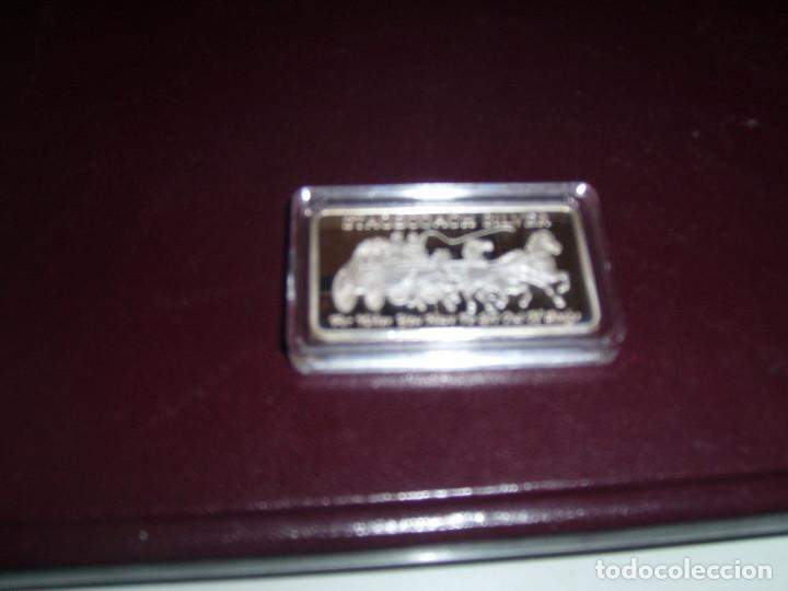 LINGOTE PLATA (Numismática - Material Numismático)