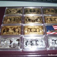 Material numismático: LINGOTES USA 2. Lote 288199188