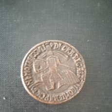Material numismático: MEDALLA REPRODUCCION DE REY PEDROI REINO ARAGON. Lote 288506873