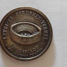 Material numismático: MONEDA CONMEMORATIVA PLAZA TOROS HUELVA. Lote 288596788