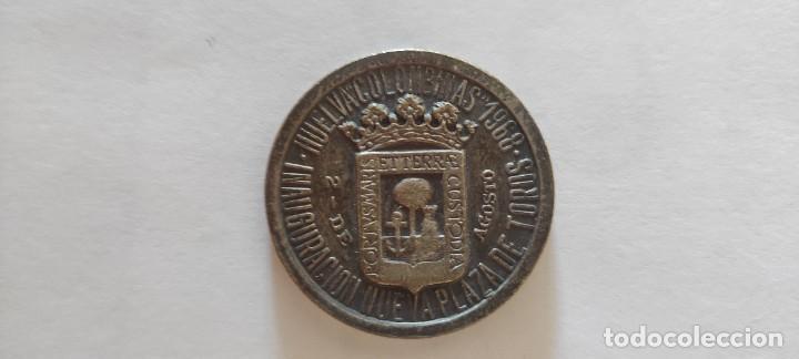 Material numismático: Moneda conmemorativa plaza toros Huelva - Foto 2 - 288596788