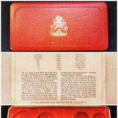 Material numismático: ⚜️ A2400. ESCASO! ESTUCHE PARA SER PROOF DE BAHAMAS 1974. VACÍO. Lote 289410858
