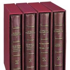 Material numismático: ÁLBUM PARDO - TOMO IV - MONEDAS ESPAÑA 1936 - 1975 CON FUNDAS COLOR BURDEOS MOD. 175005. Lote 289431533