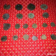 Material numismático: LOTE DE 20 MONEDAS PROCEDENTES DEL SUELO - VER LAS IMÁGENES. Lote 293974928