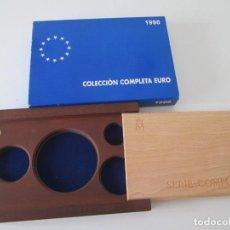 Material numismático: ESPAÑA * CAJA VACIA PARA COLECCION PLATA * EURO* 1998. Lote 294088343