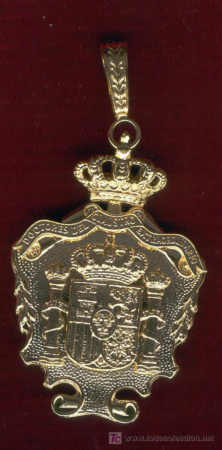 MEDALLA DE DOCTOR. (Numismática - Medallería - Condecoraciones)