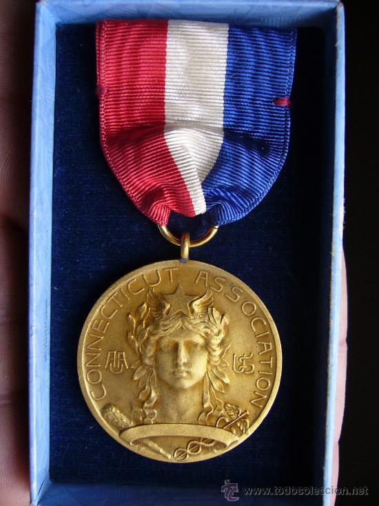 MEDALLA CONECTICUT ASSOCIATION (Numismática - Medallería - Condecoraciones)