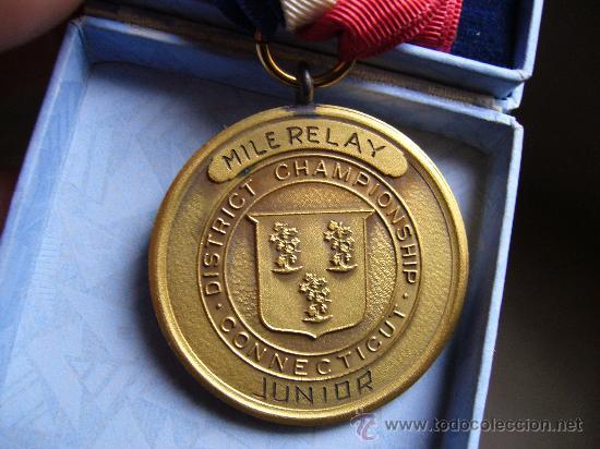 Medallas condecorativas: Medalla Conecticut association - Foto 2 - 26066265