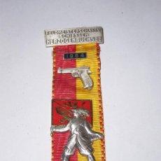 Medallas condecorativas: MEDALLA PREMIO DE TIRO SUIZO AÑO 1964. Lote 21779545