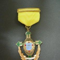 Medallas condecorativas: ANTIGUA MEDALLA COLEGIO DE LOS ESCOLAPIOS . Lote 26821196