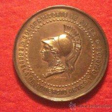 Medallas condecorativas: MEDALLA A LAS BELLAS ARTES.- S. XIX - PALAS ATENEA. Lote 26254903
