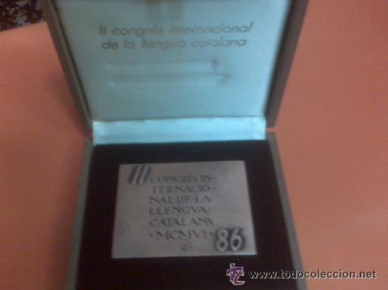 Medallas condecorativas: LINGOTE - PLACA CONMEMORATIVA 385 GRS. DE BRONCE ANDORRA EN ESTUCHE NUEVO 1986 OBRA DE SUBIRACHS - Foto 4 - 137937264