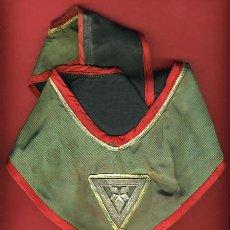 Medallas condecorativas: MASONERIA , OBJETO MASON CON MEDALLA DE LOGIA , ORIGINAL, CUBA, VER FOTO ADICIONAL. Lote 25856069
