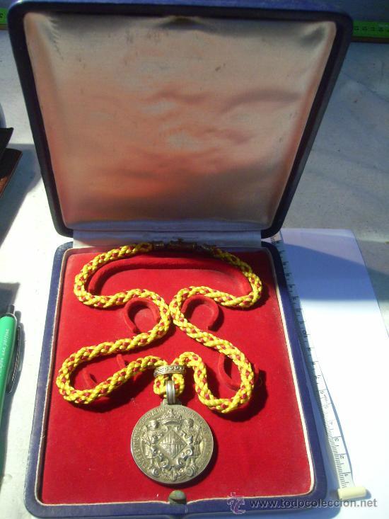 MALLORCA. EXCELENTÍSIMA DIPUTACIÓN PROVINCIAL DE BALEARES. MEDALLA DE PLATA. EN ESTUCHE.1964 (Numismática - Medallería - Condecoraciones)