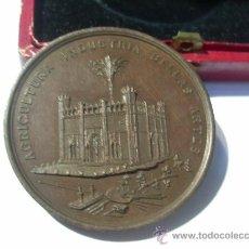 Medallas condecorativas: PALMA DE MALLORCA EXPOSICIÓN DE 1881. AL MÉRITO. MEDALLA DE BRONCE. AGRICULTURA. INDUSTRIA. BELLAS . Lote 26486505