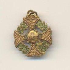 Medallas condecorativas: BONITA MEDALLA PREMIO AL MERITO PRINCIPIOS SIGLO XX. Lote 27346174