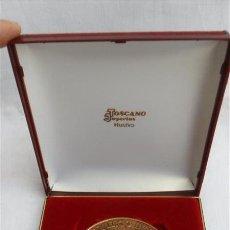 Medallas condecorativas: MEDALLA COMENMORATIVA DE COMERCIO DE HUELVA. Lote 28196922