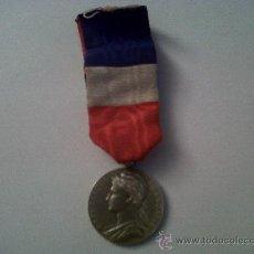 Medallas condecorativas: MEDALLA FRANCESA MINISTERE DU COMMERCE ET DE L'INDUSTRIE-HONNEUR TRAVAIL-1926-COMERCIO Y INDUSTRIA. Lote 29990263