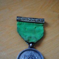 Medallas condecorativas: MASONERIA. CONDECORACION MASONICA GRAN LOGIA DE CUBA. EN PLATA. 8,5CM. Lote 30909831