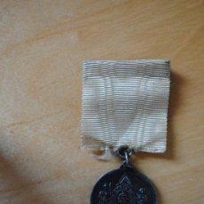 Medallas condecorativas: MASONERIA. CONDECORACION MASONICA GRAN LOGIA DE CUBA. EN PLATA. 8,5CM. Lote 30909851