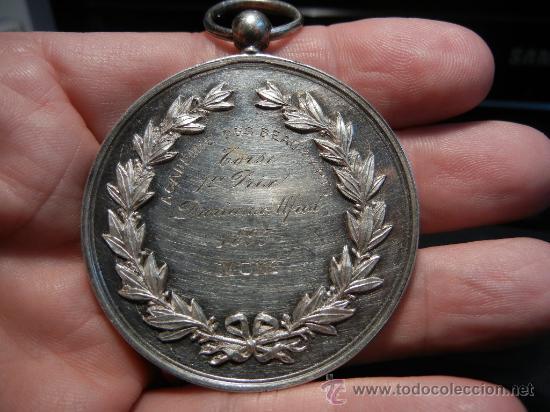 Medallas condecorativas: Medalla Belga de la Academia de Bellas Artes. Plata. 1893. - Foto 5 - 31912565