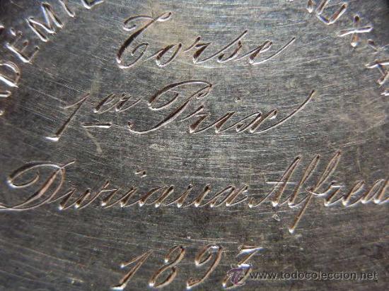 Medallas condecorativas: Medalla Belga de la Academia de Bellas Artes. Plata. 1893. - Foto 9 - 31912565