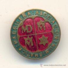 Medallas condecorativas: PRECIOSA INSIGNIA ESMALTADA DE ANUMA ASOCIACIÓN NUMISMÁTICA MADRILEÑA. Lote 34713401