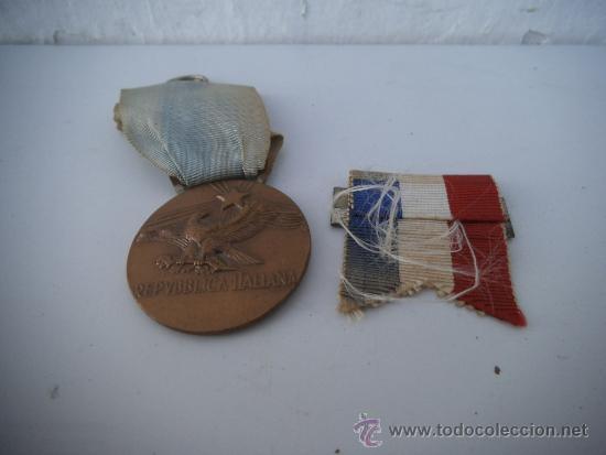 Medallas condecorativas: 2 medalla condecoracion italiana - Foto 2 - 34838069
