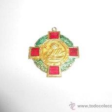Medallas condecorativas: ANTIGUA MEDALLA ESCOLAR CON LA INSCRIPCIÓN: PREMIO AL MÉRITO. Lote 36010627