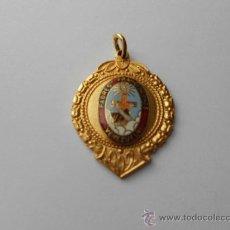 Medallas condecorativas: ANTIGUA MEDALLA RELIGIOSA CON LA INSCRIPCIÓN: PADRES FRANCISCANOS VENEZUELA.. Lote 36010704