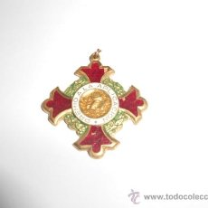 Medallas condecorativas: ANTIGUA MEDALLA ESCOLAR, CON LA INSCRIPCIÓN: PREMIO A LA APLICACIÓN. Lote 36011370