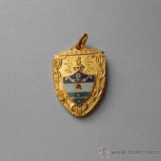 Medallas condecorativas: ANTIGUA MEDALLA ESCOLAR, CON LA INSCRIPCIÓN: CONDUCTA. Lote 36021180