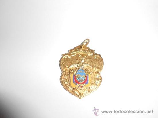 ANTIGUA MEDALLA ESCOLAR AL MÉRITO (Numismática - Medallería - Condecoraciones)